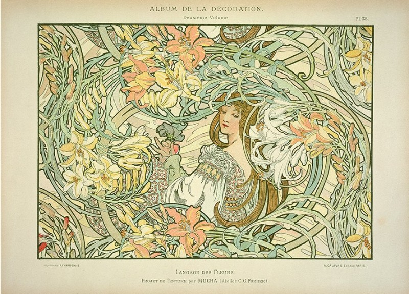 the dominance of the art nouveau in europe in the 1890s